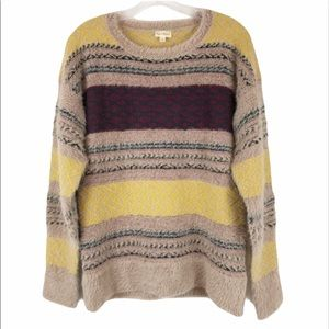 Hem & Thread Oversized Crew Neck Sweater size S